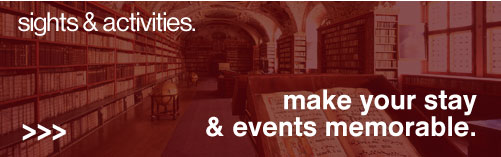 Sights &amp activities - make your stay and events memorable
