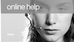 Online help - we are offline - send us a message.